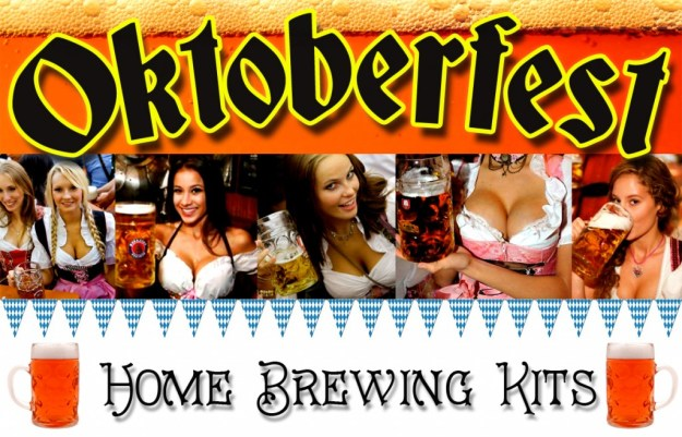 Oktoberfest is almost here, time to start brewing!
