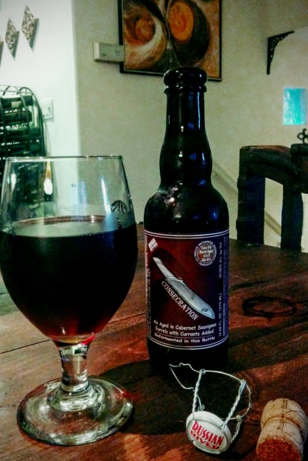 Homebrewing Russian River Consecration Beer Recipe Kit