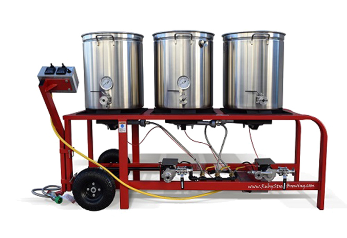 ruby street homebrewing rig