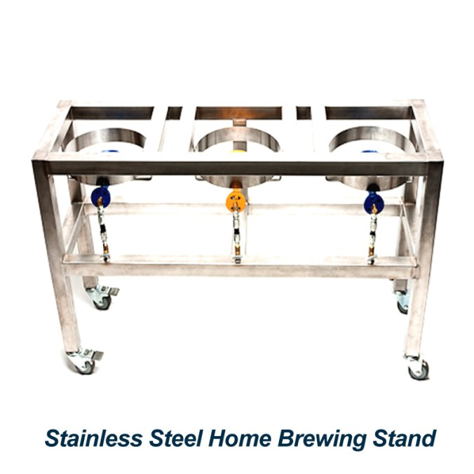 Brutus Stainless Steel Home Brewing Stand