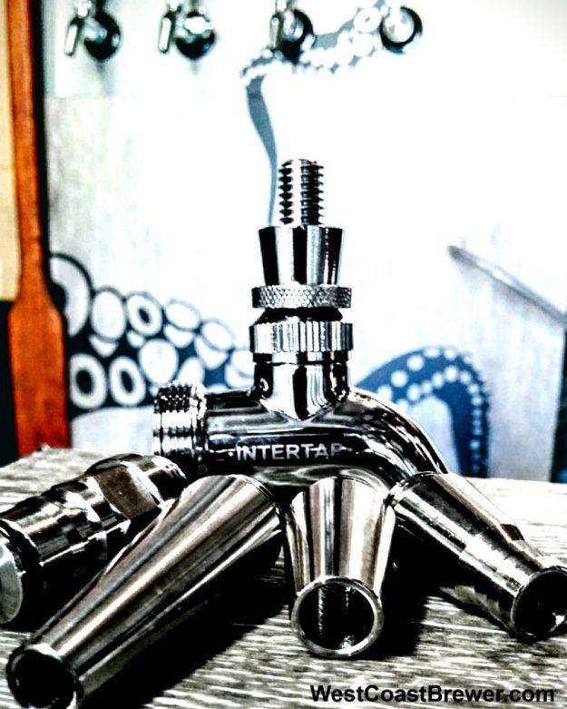 Intertap Stainless Steel Beer Faucets, Shanks and Beer Taps! #intertap #beer #taps #faucets #stainless #steel