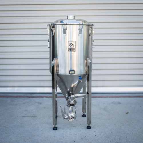Half Barrel Stainless Steel Conical Fermenter