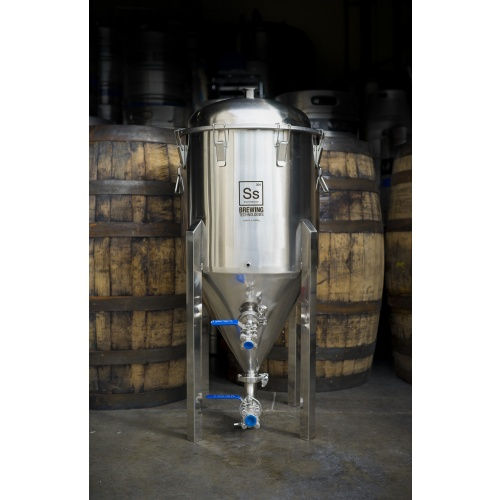 SS BrewTech 14 Gallon Stainless Steel Conical Fermenter