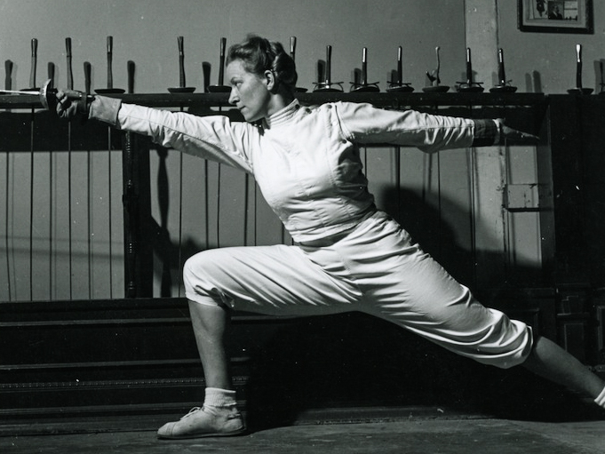 Helene Mayer Part 1 West Coast Fencing Archive
