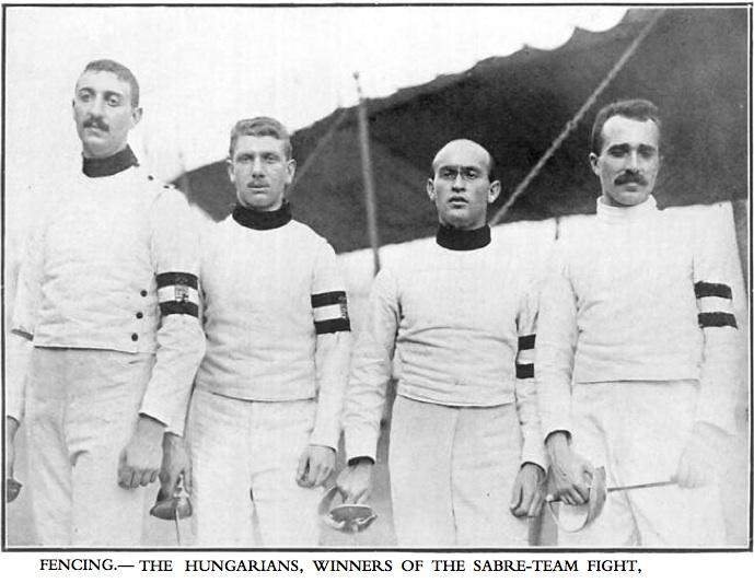 1908 Hungarian Sabre team