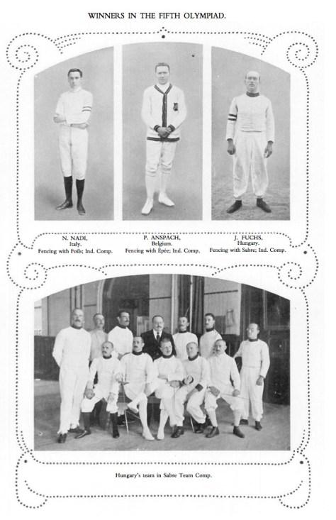 1912 Winners