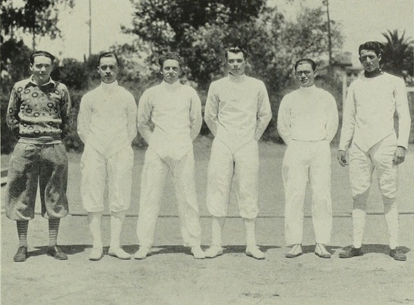 1928 UCLA.Duff team