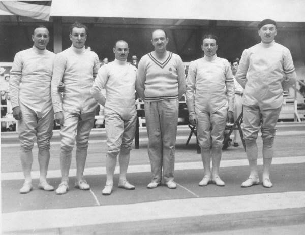 Olympics 1932 MET FRA team
