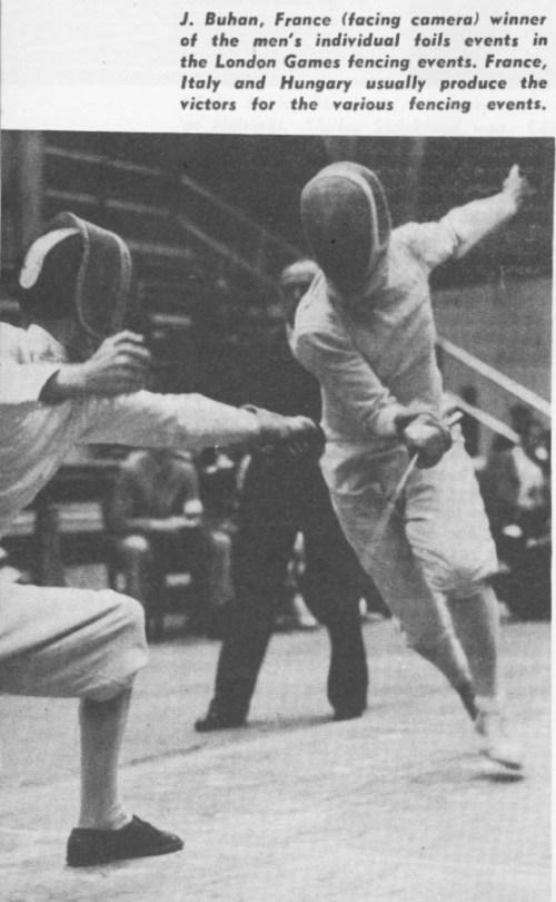 Olympics 1948 MF Buhan