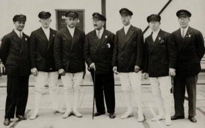 Hans Halberstadt at the 1928 Olympics