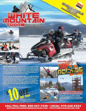 White Mountain Tours Ad