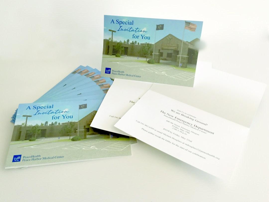 PeaceHealth Hospital – Invitations