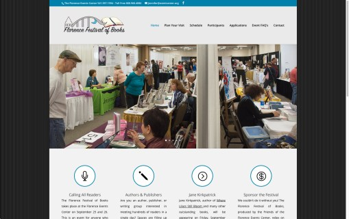 Florence Festival of Books – Website