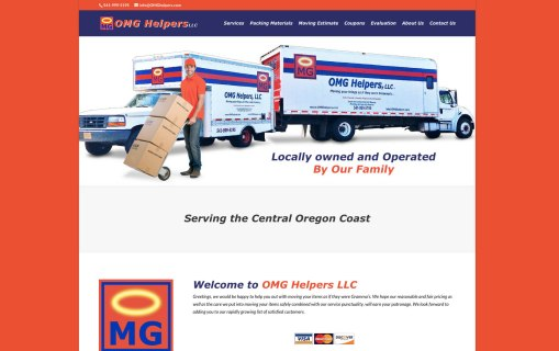 OMG Helpers – Website