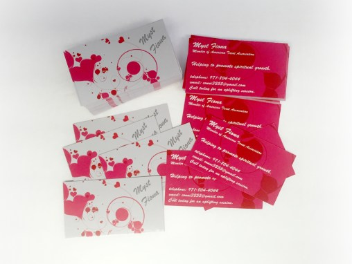 Myst Fiona – Business Cards