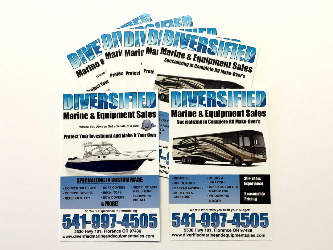 Difersified Marine & Equipment Sales – Postcard