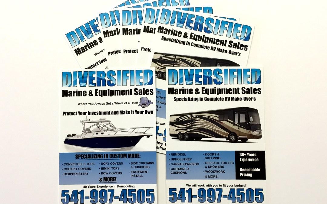 Difersified Marine & Equipment Sales – Postcard
