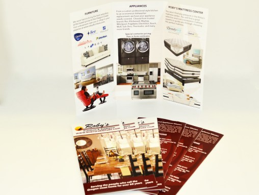 Roby's Furniture – Brochure