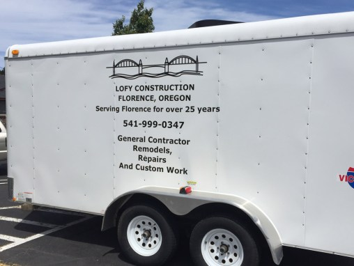 Lofy Construction – Vinyl for Trailer