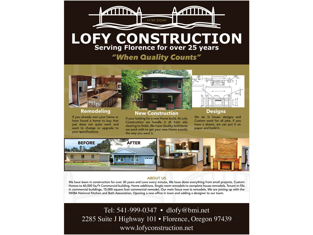 Lofy Construction – Ad