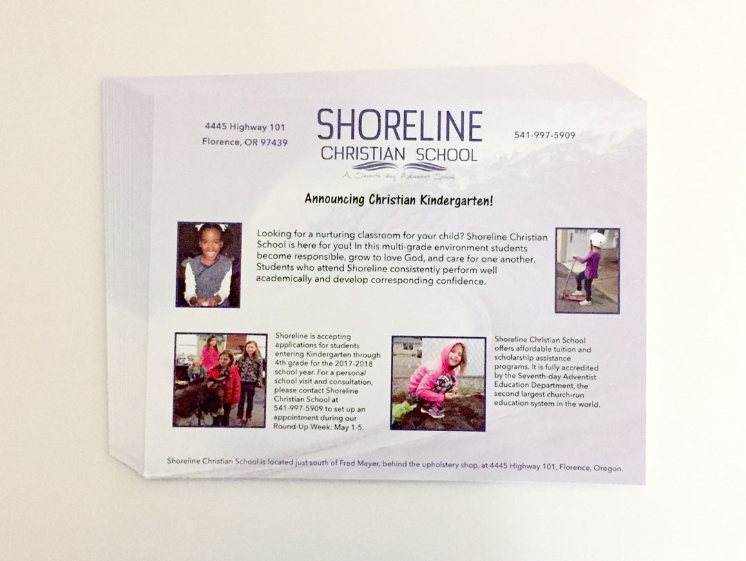 Shoreline Christian School – Flyers