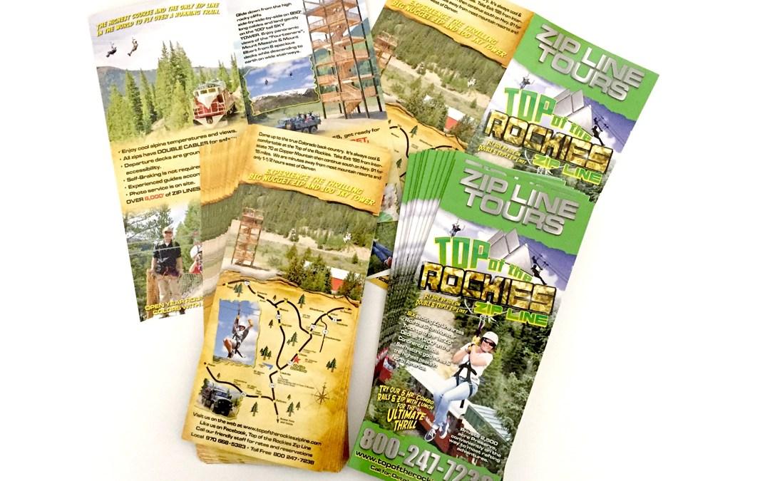 Top of the Rockies Zip Line – Brochure