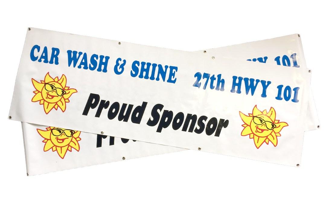 Car Wash & Shine – Banner