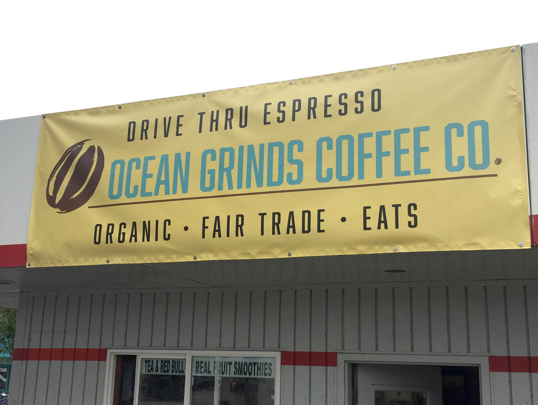 Ocean Grinds Coffee Co. – Sign