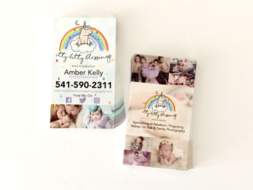 Itty Bitty Blessings Photography – Business Card