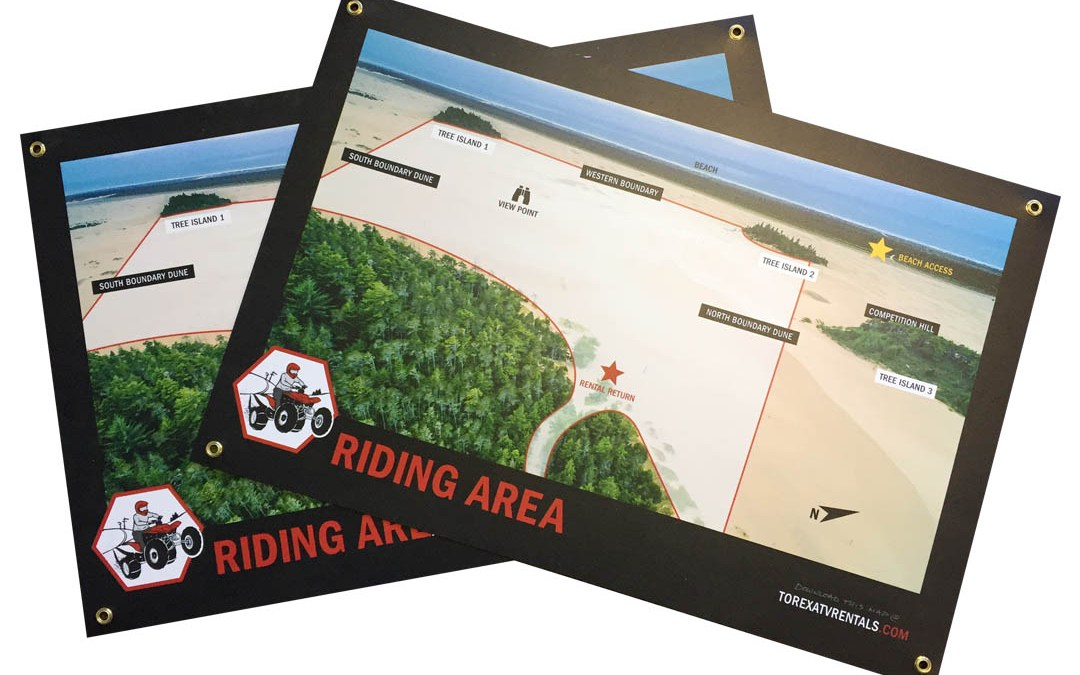 Torex ATV Rentals – Riding Map