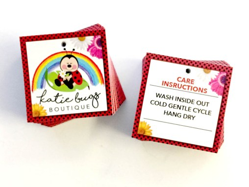Katie Bugs Boutique – Hang Tags