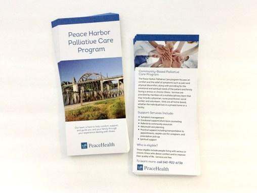 PeaceHealth – Rack Card
