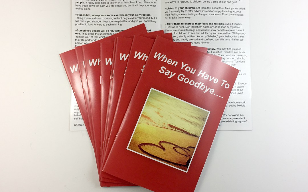 SVFR – When You Have to Say Goodbye Booklet