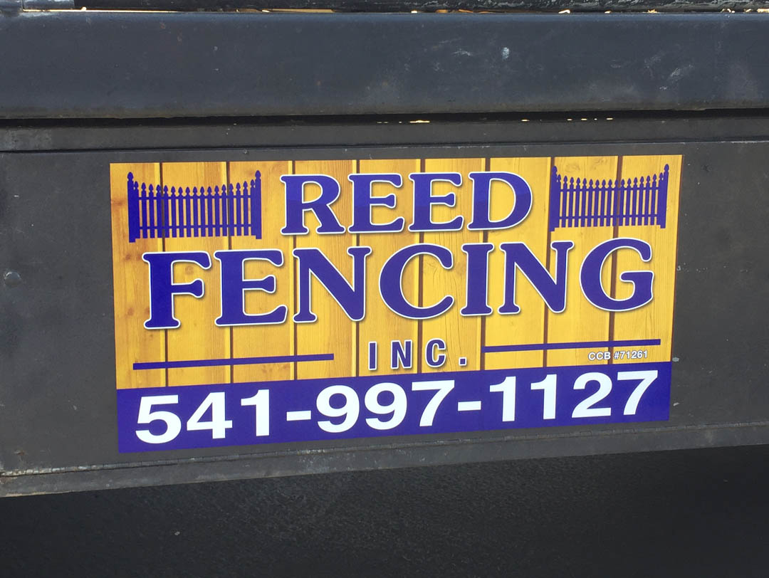 Reed Fencing – Car Magnet