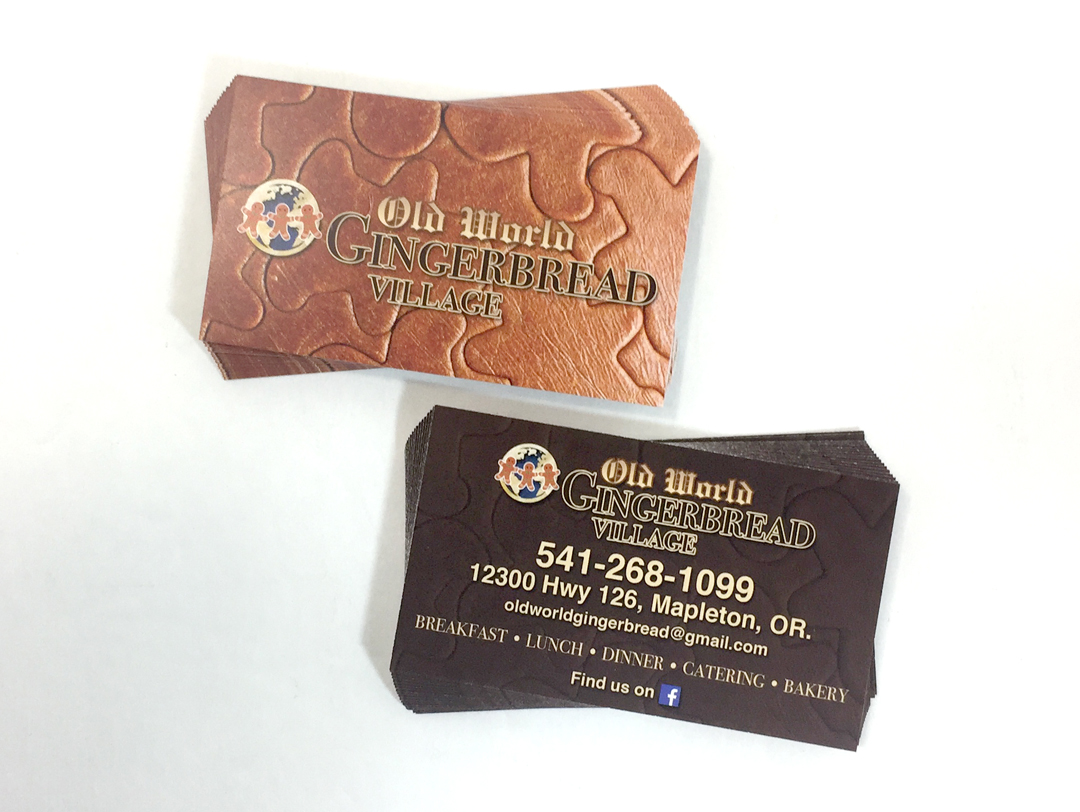 GingerbreadVillage – Business Cards