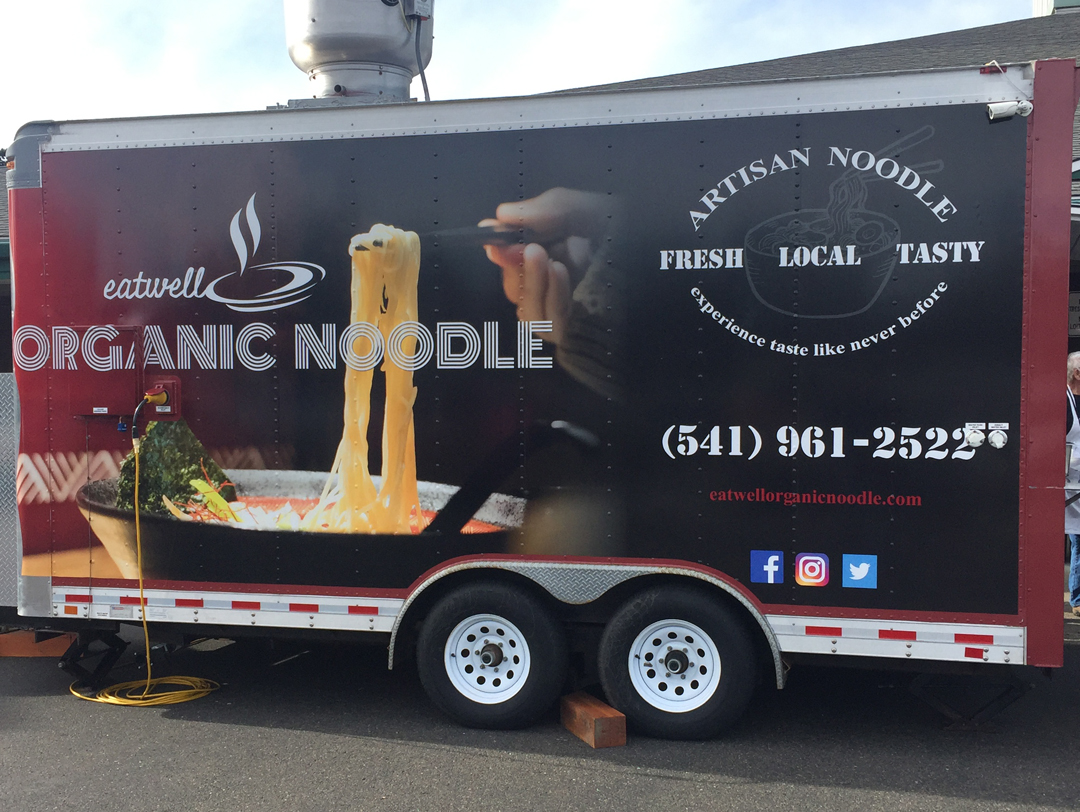 Eatwell Organic Noodle  – Trailer Wrap Design