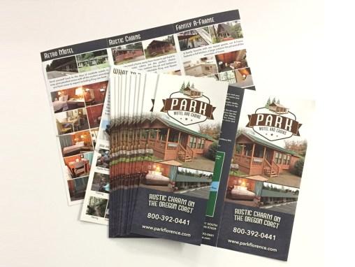 Park Motel – Brochure