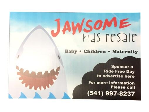 Jawsome – Sign