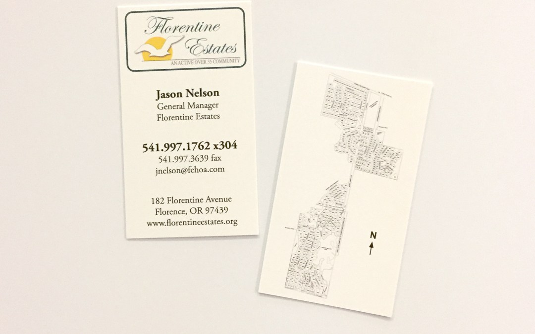 Florentine Estates – Business Cards