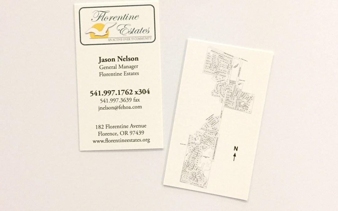 Florentine Estates – Business Cards