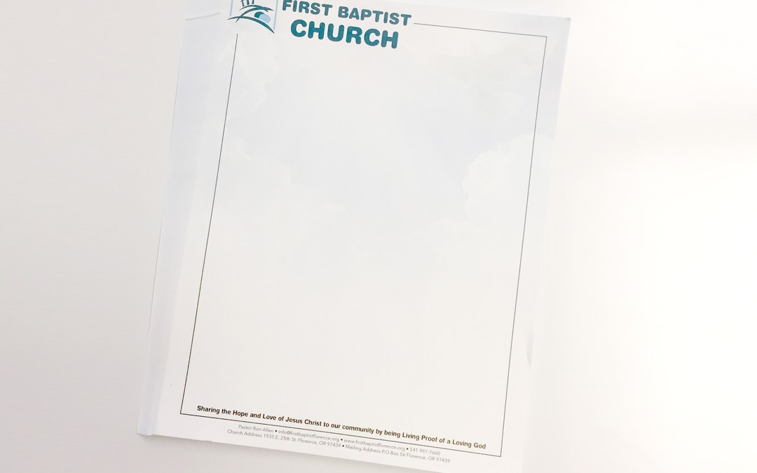 First Baptist Church – Letterheads