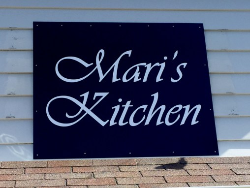 Mari's Kitchen – Sign