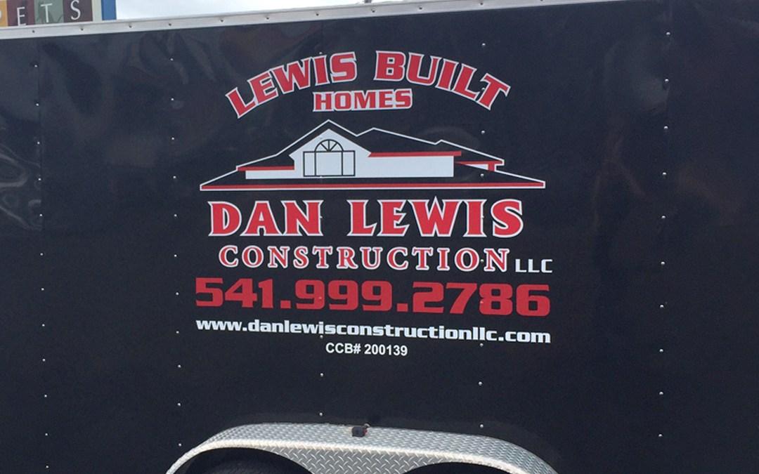 Dan Lewis Construction – Vinyl Graphics