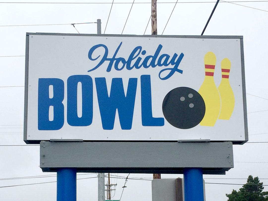 Holiday Bowl – Sign