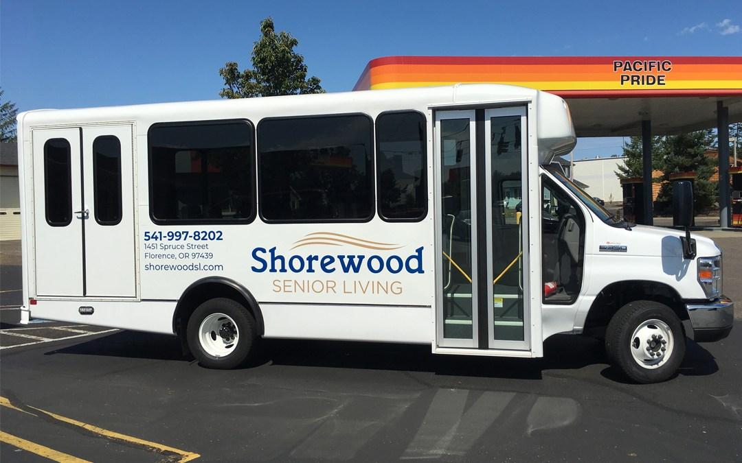 Shorewood Senior Living – Vinyl Graphics on Bus