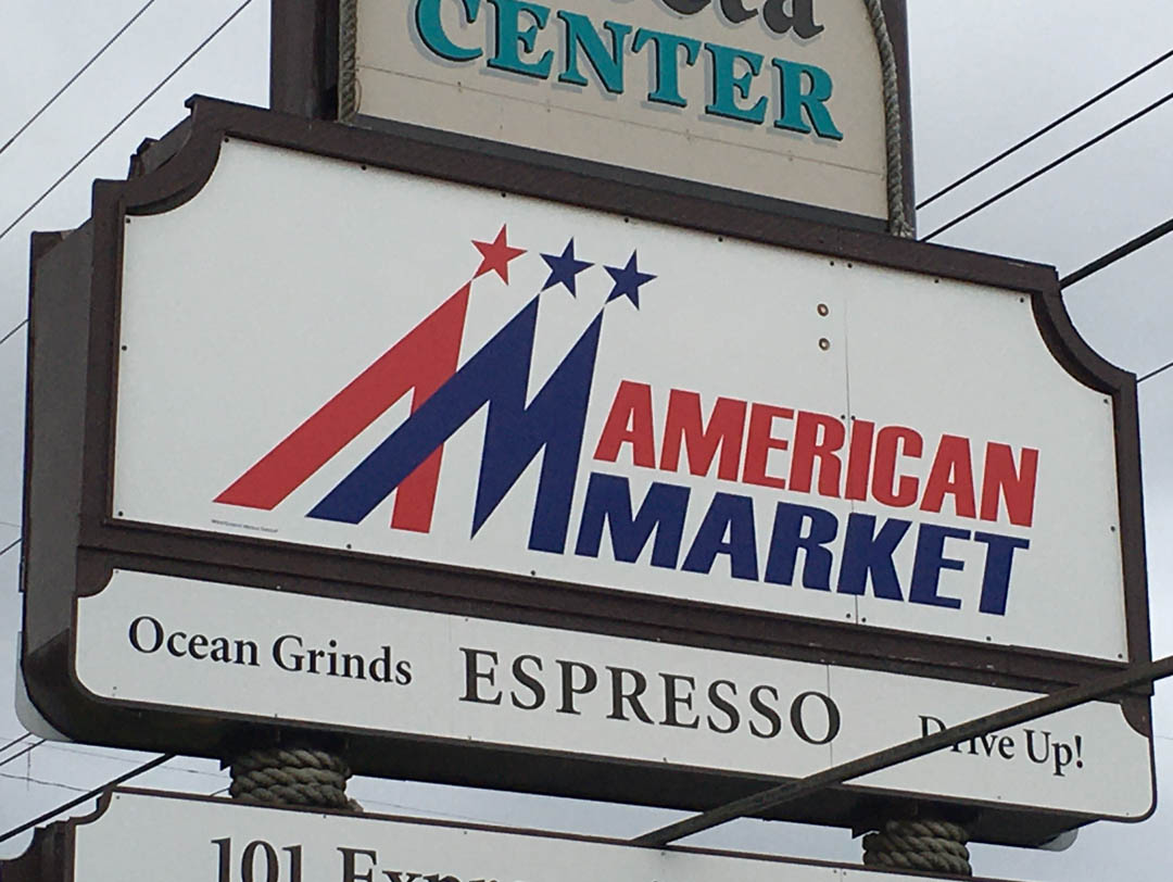 American Market – Sign