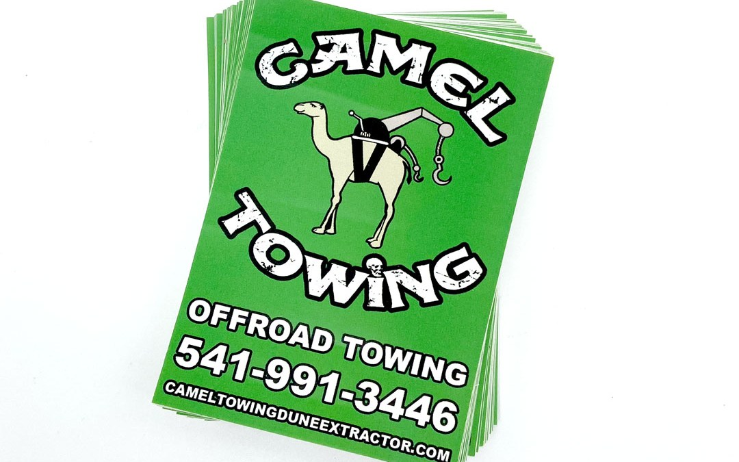 Camel Towing – Vinyl Sticker