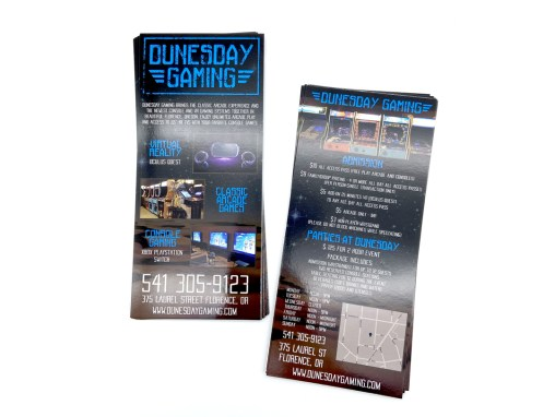 Dunesday Gaming – Rack Card