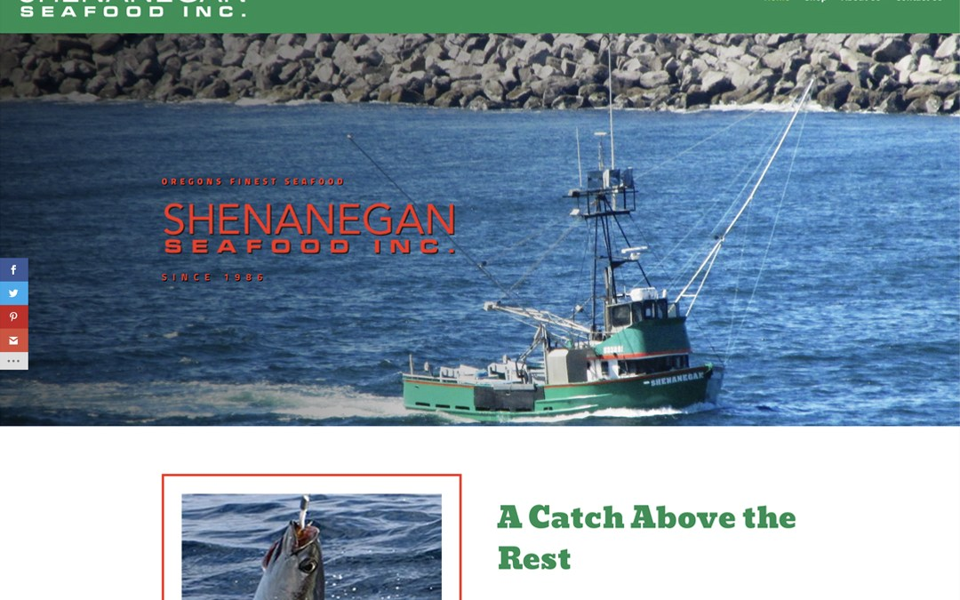 Shenanegan Seafood Inc. – Website