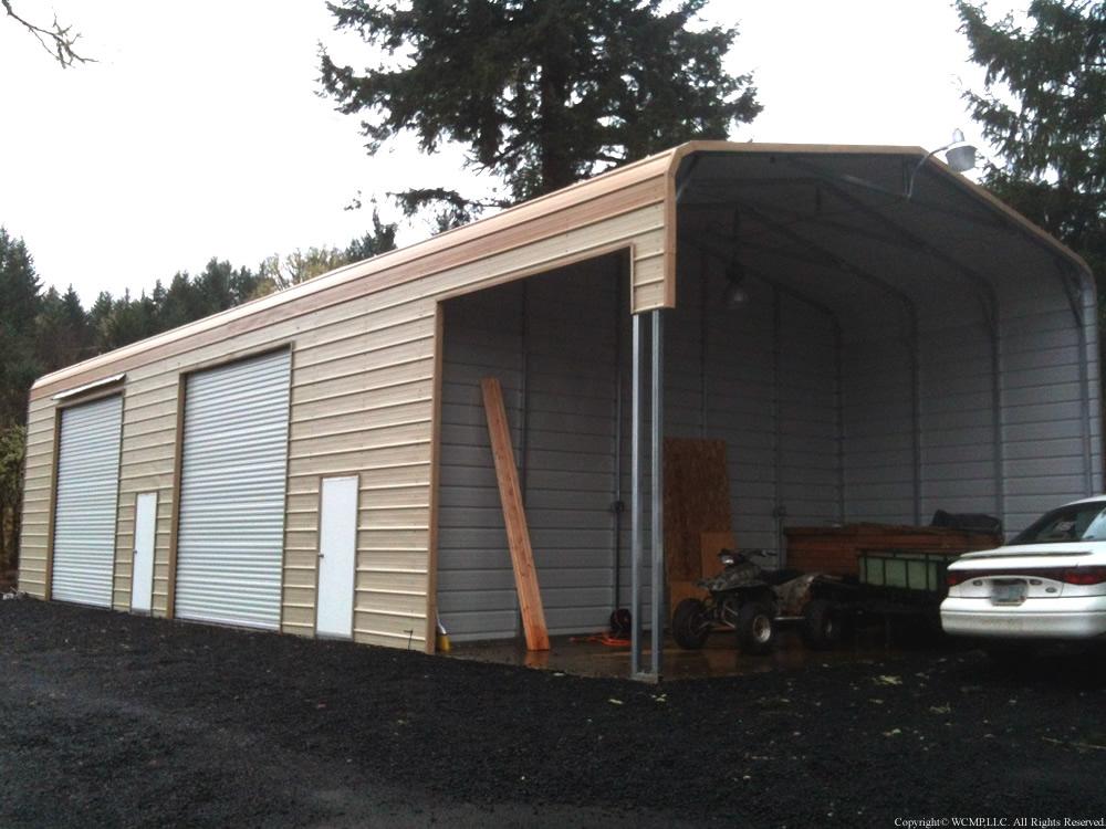 West Coast Metal Buildings Utility Building E Carports
